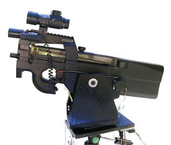 Robotic Sentry Gun From USMechatronics: Science Fiction in