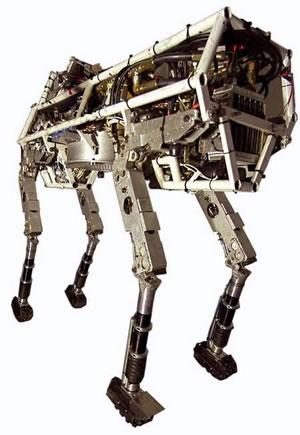 Bigdog Quadruped Robot Update Science Fiction In The News