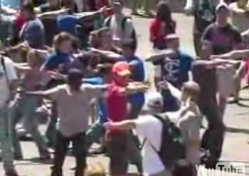 "Evento inédito no Tibia, ""Flashmob"" Xbox-flashmob"