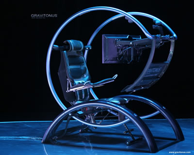 Emperor Gaming Chair >> Gravitonus Ergonomic Workstation: Science Fiction in the News