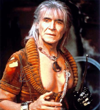 Ricardo Montalban as Khan in Star Trek II