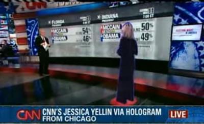 CNN Hologram presentation