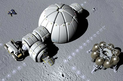 inflatable moon base - photo #3