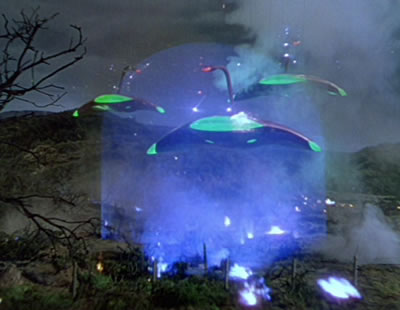 the war of the worlds 1953. in 1953 movie version)