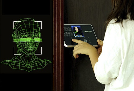 Chinavision Face Recognition Door Lock Science Fiction In