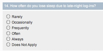 online addiction test